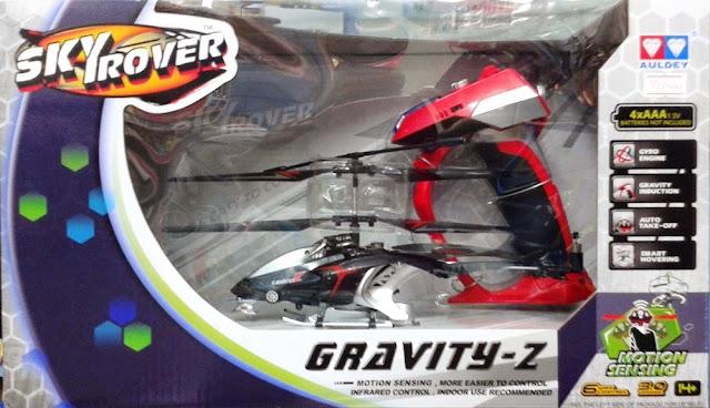 Máy bay trực thăng điều khiển từ xa Gravity-Z Skyrover YW858231 màu đen dành cho trẻ em trên 14 tuổi