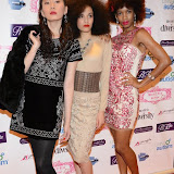 WWW.ENTSIMAGES.COM -    Models of Diversity - Danielle Yen, Koo Stallard and Storm Stewart     at     Charity catwalk show at Wear it for Autism - Millennium Hotel London Knightsbridge, London October 6th 2014Charity fashion show to celebrate families and individuals affected by autism.                                                 Photo Mobis Photos/OIC 0203 174 1069