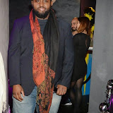 WWW.ENTSIMAGES.COM -    Jaz Ellington -The Voice    arriving at      The MediaSkin Gifting Lounge at Stamp 79 Oxford Street London November 6th 2014                                                 Photo Mobis Photos/OIC 0203 174 1069