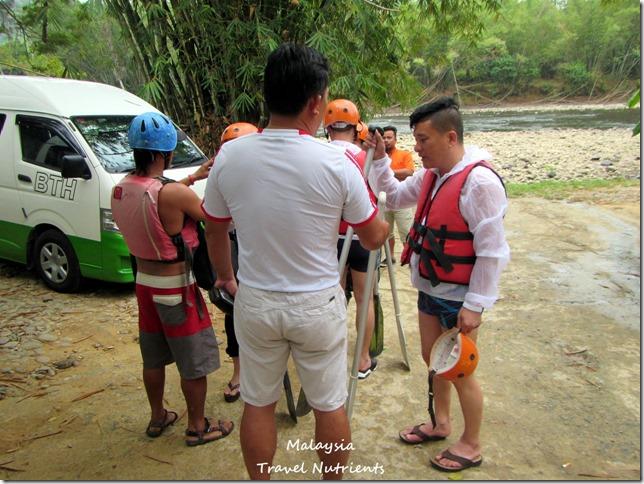 馬來西亞沙巴 九如河泛舟 溜索 (3)