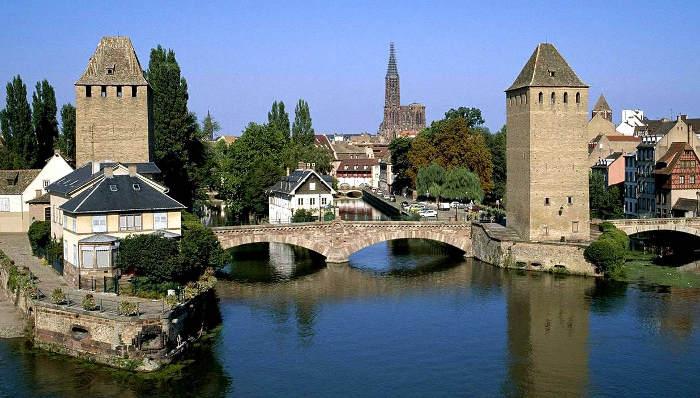 canales y puentes de Estrasburgo