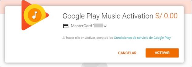 Abrir mi cuenta Google Play Musica - 8.