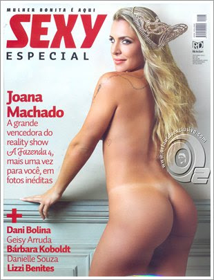 Download Revista Sexy Especial   Joana Machado Out/2011 Baixar