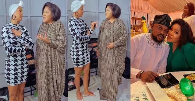 """""""Nigerian Men Are The Best""""— Toyin Abraham Tells American Actress LisaRaye McCoy as She Promise to get her One [Video]"""