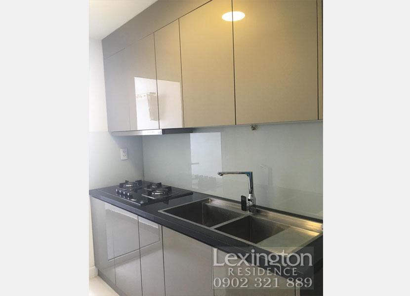 khu vực bếp tại căn hộ Lexington 1PN
