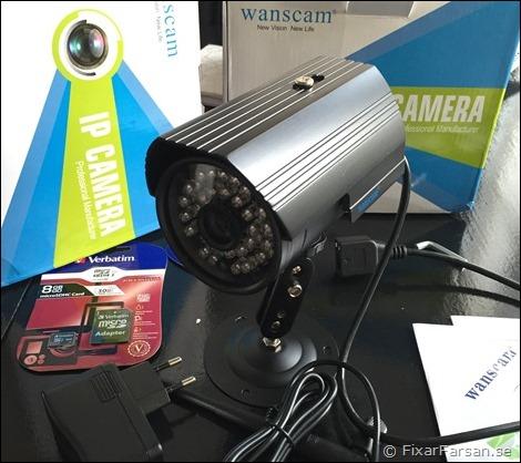 Test  Trådlös IP Övervakningskamera (HD720p)  c3f6935698a04