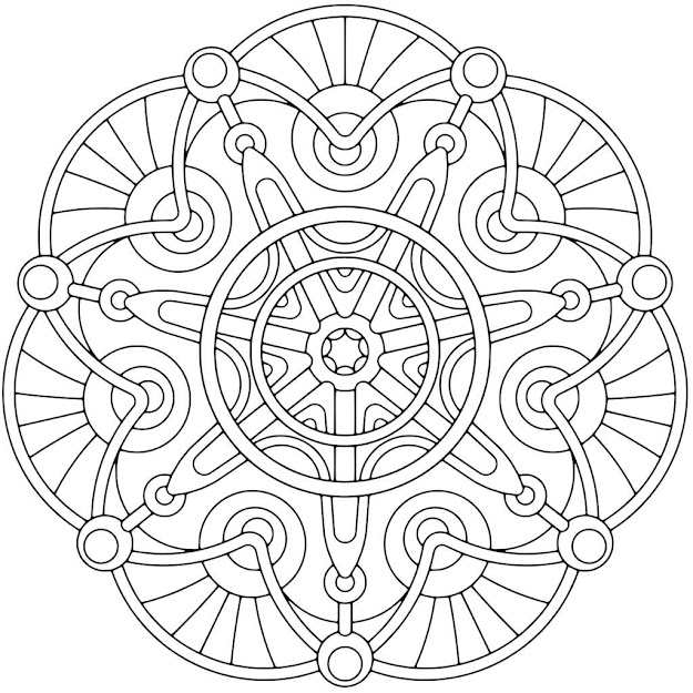 mandala coloring pages adults printable free coloring pages for adults printable image free mandala coloring - Printable Color Pages For Adults