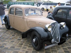 Citroen Traction 7B toit tôlé