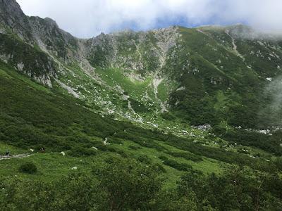 木曽駒ケ岳と三ノ沢岳