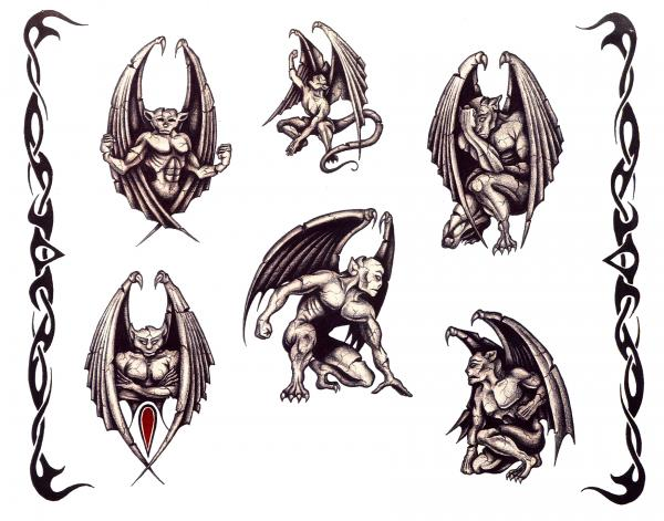 Design Of Magical Tattoo 10, Fantasy Tattoo Designs