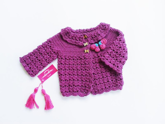 Sweater rajut, cardigan rajut, sweater rajut bayi, cardigan rajut bayi, kardigan rajut, baju rajut bayi, jaket rajut, jaket rajut bayi, crochet babyi sweater, crochet baby cardigan, crochet baby jacket