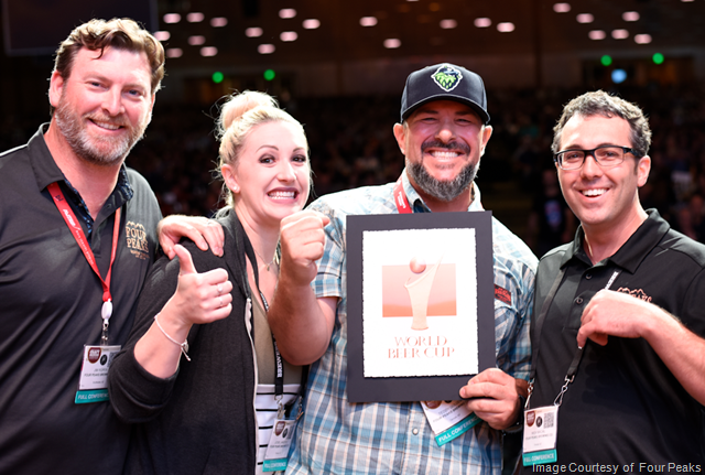 Four Peaks Golden Lager Wins Bronze at World Beer Cup