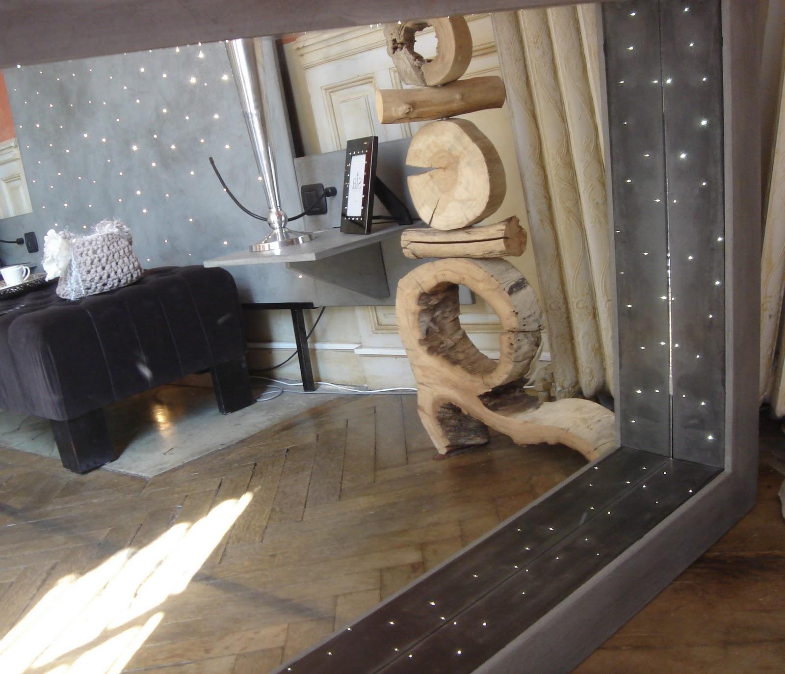 t m beton design miroir et tete de lit avec fibre optique. Black Bedroom Furniture Sets. Home Design Ideas