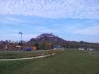Blick auf die Burg Staatz