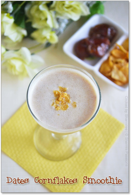 Dates Cornflakes Smoothie