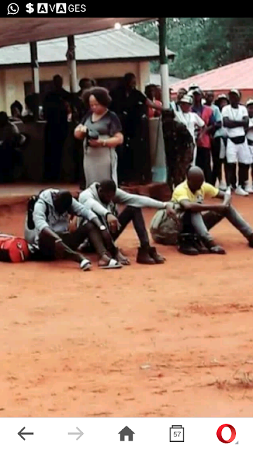 Photo: Three Corpers Caught With Hard Drugs In Anambra Orientation Camp