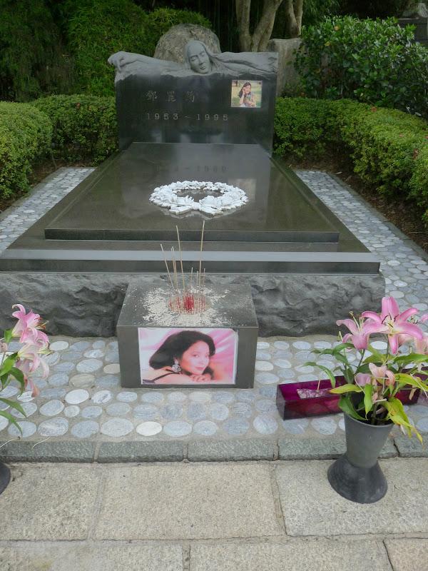 Tombeau de la chanteuse Teresa Teng