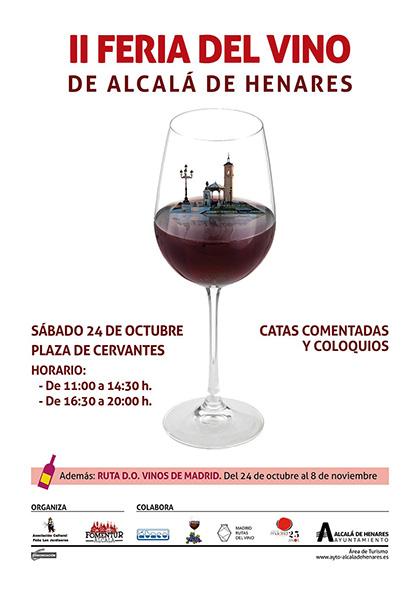 II Feria del Vino de Alcalá de Henares