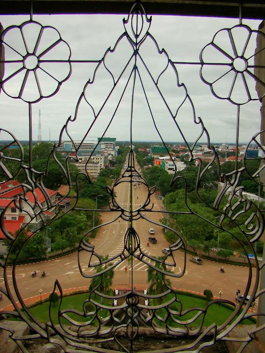 Los campos Elíseos de Vientiane