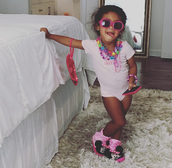 Chris Brown Shares Super Cute Photo Of His Daughter