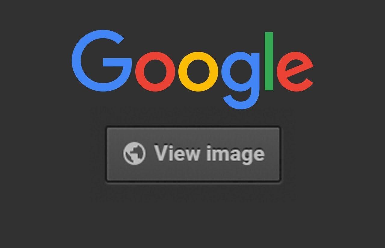 Cara mudah mengembalikan tombol view image google