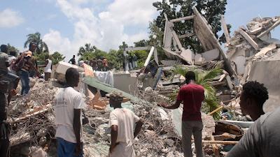 HAITI: MAS DE 1200 MUERTOS Y UNA ALERTA DE TORMENTA TROPICAL