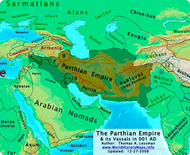 0 A.D.-Parthian-Empire