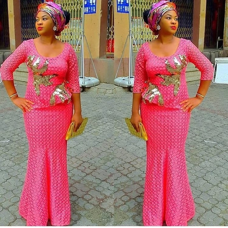 Latest Aso Ebi Styles Dresses For African Woman 4