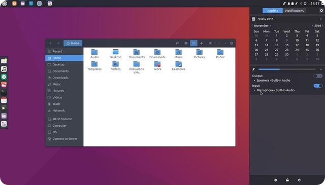 Budgie Desktop è un ambiente grafico adatto anche ai computer con scarse dotazioni hardware.