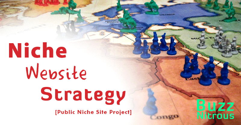 My Niche Site Strategy Revealed! [Niche Site Project]
