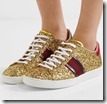 Gucci Glittered Leather Sneakers