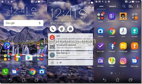 Software Asus Zenfone 3 Max ZC520TL