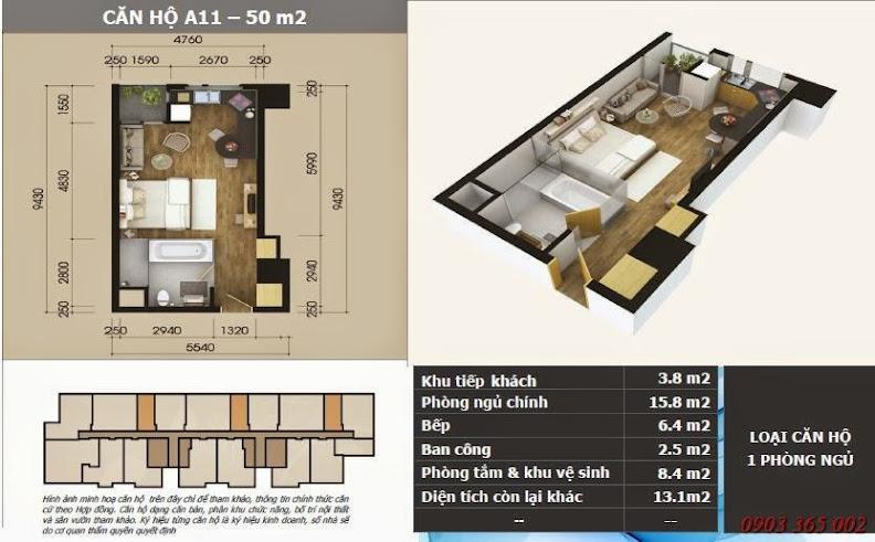 Chung cư starcity lê văn lương thiết kế căn A11