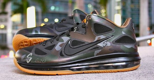 Nike LeBron 9 Low 8220War Vet8221 Camo PE 8211 Pics amp Video