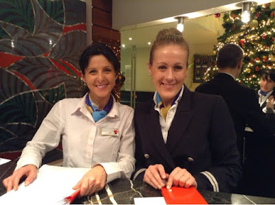The great team onboard the AmaPrima Christmas Markets river cruise from Nuremberg to Budapest