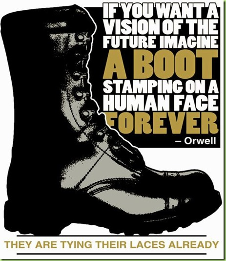 orwell's boots