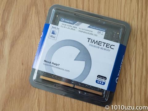 TIMETEC DDR4-2666MHz 16 GB 2枚