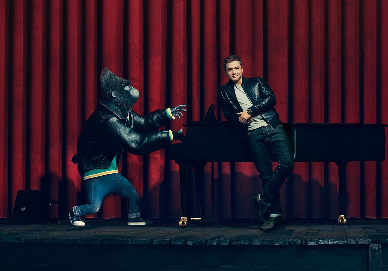 Taron Egerton and his SING character, Johnny. (Photo courtesy of Illumination Entertainment and Universal Pictures).