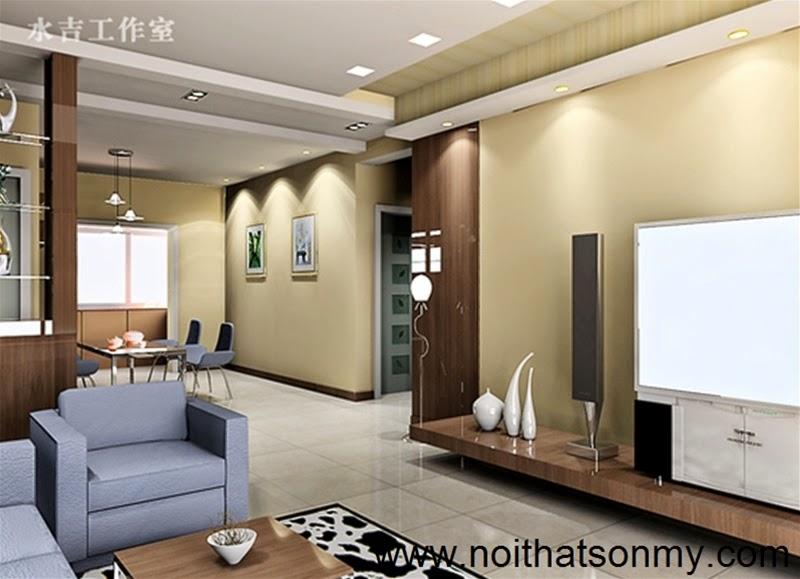 Mẫu thiết kế nội thất phòng khách 322