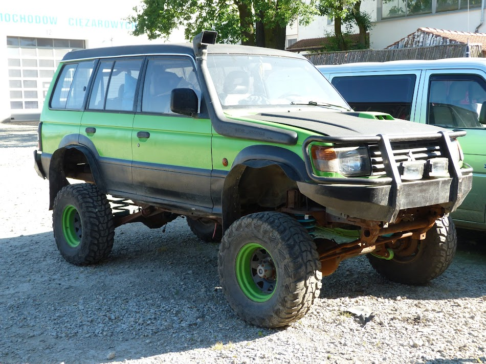 Pajero Gen 2 3 5 V6 Solid front axle swap - Page 2