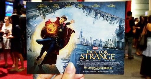 Doctor Strange Philippines Cinemas October 26