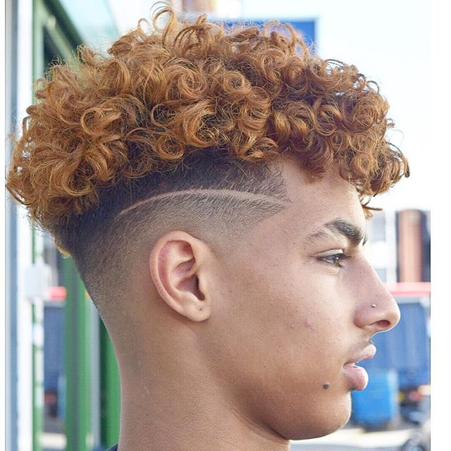 2018 Curly Hairstyles For Men Sexy Curls It