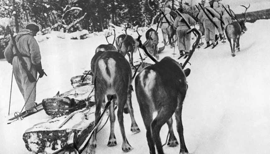 Финские лыжники