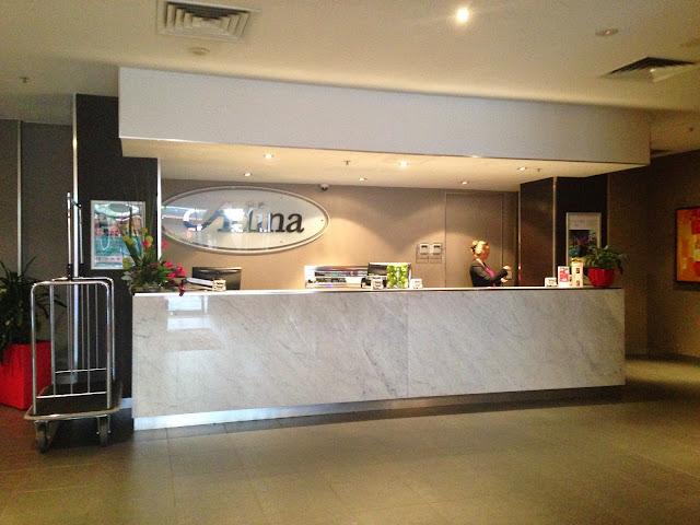 Adina Hotel, Barrack St, Perth