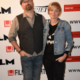 OIC - ENTSIMAGES.COM - Neil Marshall and  Axelle Carolyn at the Film4 Frightfest on Monday   of  Tales of Halloween UK Film Premiere at the Vue West End in London on the 31st  August 2015. Photo Mobis Photos/OIC 0203 174 1069