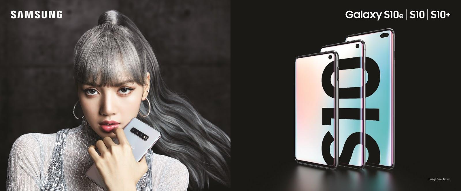 """Samsung ดึง """"ลิซ่า"""" ขึ้นแท่นพรีเซ็นเตอร์ กาแลคซี่ เอส 10 เติมเต็มความฝันเจเนอเรชั่นใหม่ในการเป็นผู้สร้างสรรค์คอนเทนต์"""