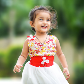 Baby by Ananth Eswar - Babies & Children Child Portraits ( child, cute baby, girl, ananth, daughter, baby girl, alpha photography, baby, smile, portrait of children, anantheswar )