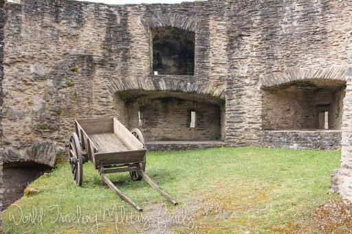 Burg Bourschied - Luxembourg