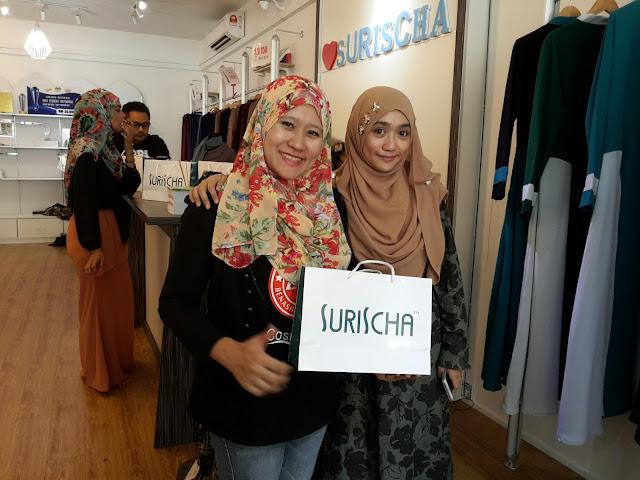 MENCARI JUBAH DRESS PILIHAN UNTUK RAYA AIDILFITRI 2016 - BUTIK SURISCHA BANGI SENTRAL !