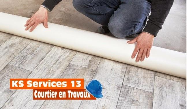 Ks Services 13: Prix-Devis : Sol Plastique - Fourniture Et Pose